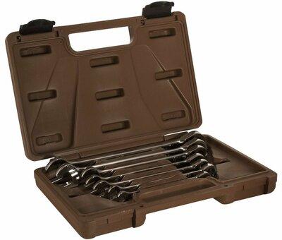 Набор ключей гаечных комбинированных трещоточных SNAP GEAR, 8-19 мм, 7 предметов 19635