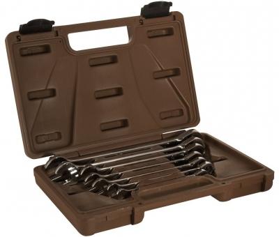 Набор ключей гаечных комбинированных трещоточных SNAP GEAR, 8-19 мм, 7 предметов 24480