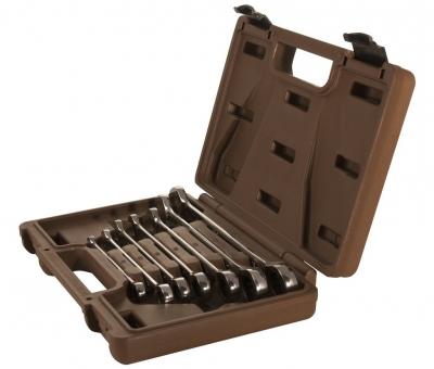Набор ключей гаечных комбинированных трещоточных SNAP GEAR, 8-19 мм, 7 предметов 24488