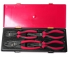 Набор инструментов губцевых 4 предмета (пассатижи, бокорезы) (кейс) JTC 10795