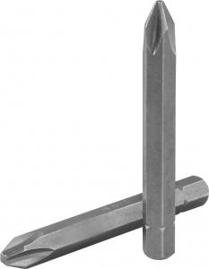 Бита ударная 5/16''DR крест, PH#2, 70 мм, S2 материал JONNESWAY