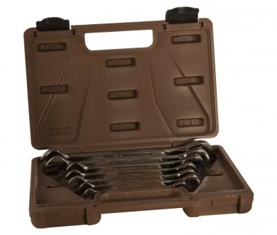 Набор ключей гаечных комбинированных трещоточных SNAP GEAR, 8-19 мм, 7 предметов 19636