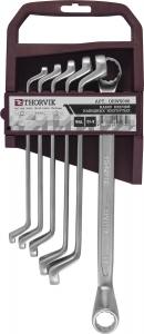 Набор ключей накидных 75° на пластиковом держателе 6-19 мм, 6 предметов Thorvik