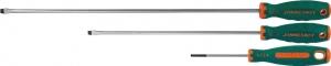Отвертка стержневая шлицевая ANTI-SLIP GRIP, SL4.0х200 мм