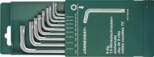 Комплект угловых ключей Torx JONNESWAY