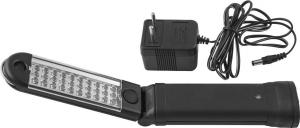 Лампа-переноска аккумуляторная многоцелевая, светодиодная, складная, с магнитным держателем. JONNESWAY