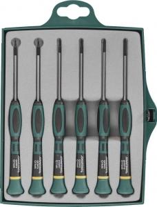Набор отверток для точной механики TORX® Т5-Т20 6 предметов JONNESWAY