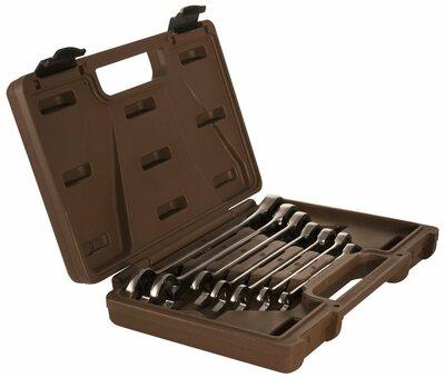 Набор ключей гаечных комбинированных трещоточных SNAP GEAR, 8-19 мм, 7 предметов 19632