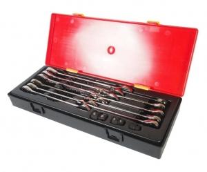 Набор ключей комбинированных трещоточных 8-19мм 14 предметов в кейсе JTC