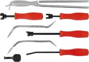 BTS Набор инструментов для обслуживания тормозных механизмов, 8 предметов