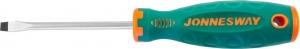 Отвертка стержневая шлицевая ANTI-SLIP GRIP, SL6.5х100 мм