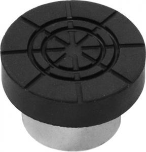 Адаптер бутылочного домкрата с резиновой накладкой для штока D-23мм