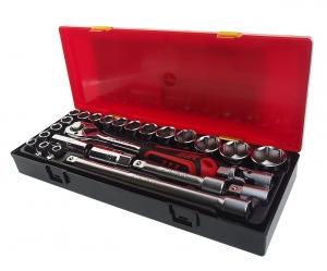 Набор инструментов 25 предметов слесарно-монтажный в ложементе JTC