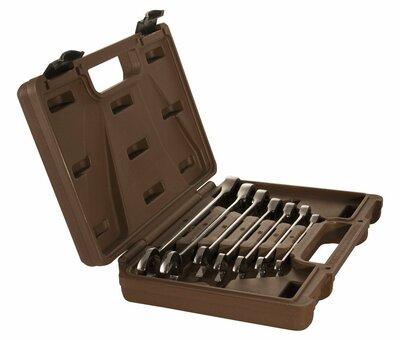 Набор ключей гаечных комбинированных трещоточных SNAP GEAR, 8-19 мм, 7 предметов 24476