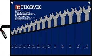 Набор ключей комбинированных в сумке 10-32 мм, 14 предметов Thorvik