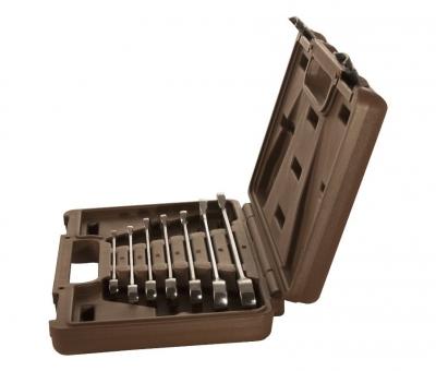 Набор ключей гаечных комбинированных трещоточных SNAP GEAR, 8-19 мм, 7 предметов 19645