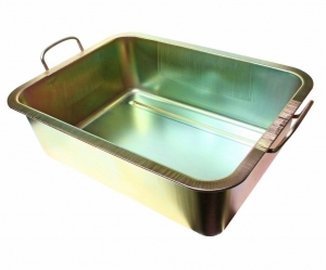 Емкость для слива масла 22л металлическая (ванна ) JTC