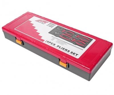 Набор инструментов губцевых 4 предмета (пассатижи, бокорезы) (кейс) JTC 10796