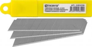 Сменные лезвия для ножа хозяйственного универсального GUK197, 10 шт. Thorvik