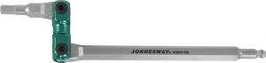Ключ торцевой шестигранный карданный 4 мм JONNESWAY