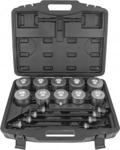 APPS24 Инструмент универсальный для замены сайлентблоков в наборе, 44-82 мм, 24 предмета