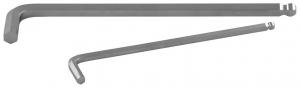 Ключ торцевой шестигранный с шаром удлиненный для изношенного крепежа H17 JONNESWAY