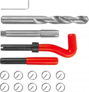 TRIS14125 Набор для восстановления резьбы M14x1.25, 15 предметов