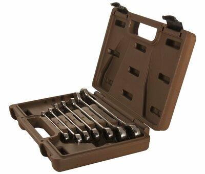 Набор ключей гаечных комбинированных трещоточных SNAP GEAR, 8-19 мм, 7 предметов 19643