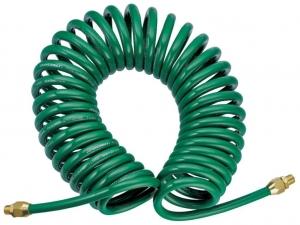 Шланг спиральный для пневмоинструмента, 5 мм х 8 мм х 8 м JONNESWAY