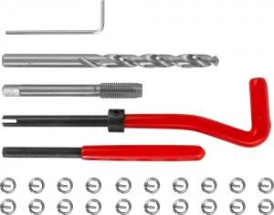 TRIS710 Набор для восстановления резьбы M7x1.0, 25 предметов