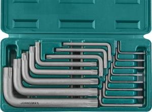 Набор угловых ключей Torx Т6-Т70, 16 предметов JONNESWAY