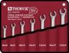 W4S7TB Набор ключей разрезных в сумке 8-19 мм, 7 предметов Thorvik 14607