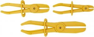 HCS3 Набор пластиковых зажимов для резиновых шлангов и патрубков, 3-57 мм, 3 предмета
