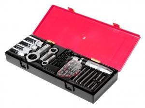 Набор инструментов для демонтажа крепежных элементов с поврежденной резьбой 26 предметов JTC