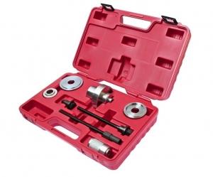 Набор инструментов для демонтажа сайлентблоков рычагов подвески VW,AUDI A2 7 предметов (кейс) JTC