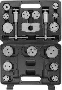 ACPTK18 Приспособление для возврата поршней дисковых тормозных механизмов в наборе, 18 предметов