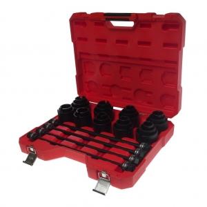 Набор инструментов для демонтажа/монтажа сайлентблоков внутр. d=24-72мм универсальный 29 пр. JTC