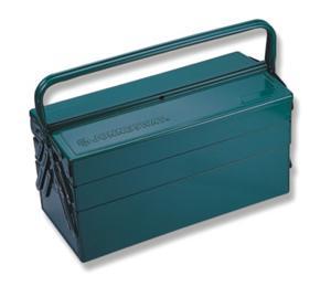 Портативный ящик для инструментов с 3 секциями: 470 х 220 х 350 мм JONNESWAY