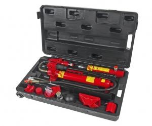Набор инструментов для кузовных работ профессиональный, усилие 10т, 17шт. в кейсе JTC