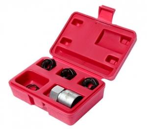 Набор инструментов для восстановления резьбы шпилек колес (М12х1.25, М12х1.5, М14х1.5) в кейсе JTC
