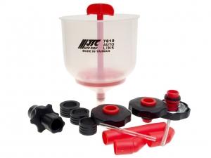Набор для заправки охлаждающей жидкости с универсальными адаптерами JTC