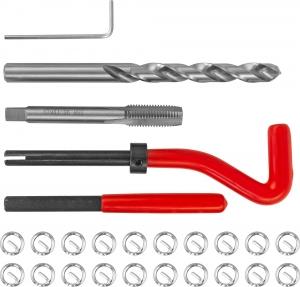 TRIS9125 Набор для восстановления резьбы M9x1.25, 25 предметов
