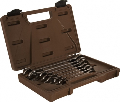 Набор ключей гаечных комбинированных трещоточных SNAP GEAR, 8-19 мм, 7 предметов 19634