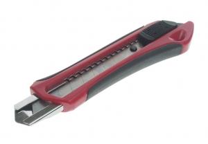 Нож со сменными лезвиями усиленный, выдвижной (с отламывающимися лезвиями) JTC