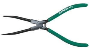 Щипцы для стопорных колец с удлиненными губками 216 мм. сжим прямой JONNESWAY