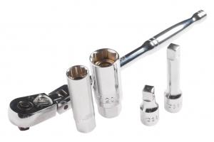 Набор головок торцевых магнитных для свечей зажигания (трещотка,головка 16мм,21мм) JTC