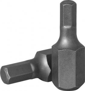 Бита 10 мм, шестигранная 8 мм, 30 мм, S2 материал JONNESWAY