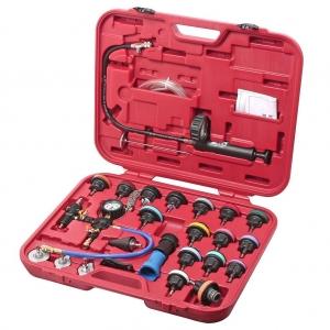 Набор инструментов для тестирования давления в радиаторе 27 предметов (кейс) JTC