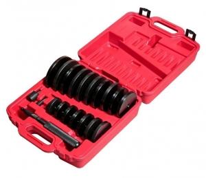 Набор оправок для выпрессовки подшипников, втулок, сальников 70-150мм 21 предмет JTC