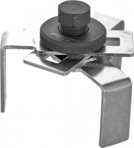 Съемник крышек топливных насосов, трехлапый, регулируемый, 75-160 мм JONNESWAY